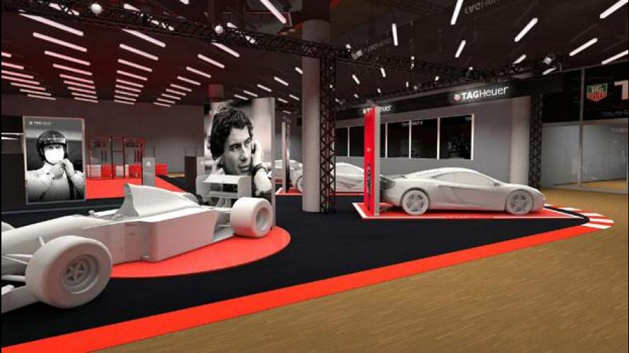 Salone di Ginevra 2015, TAG Heuer celebra Senna e il motorsport