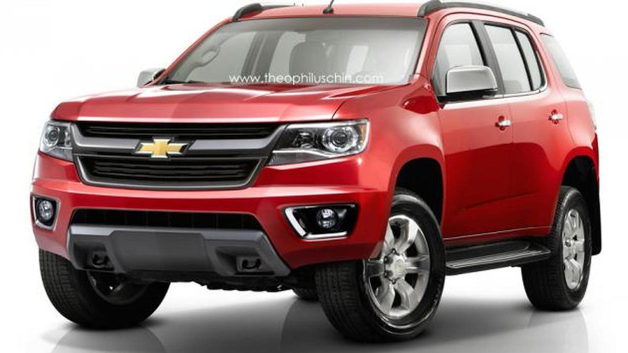 Chevrolet TrailBlazer gets rendered in U.S. guise