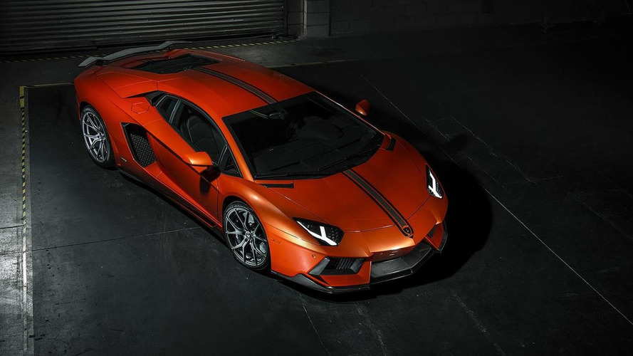 Vorsteiner shows off its Lamborghini Aventador-V LP-740