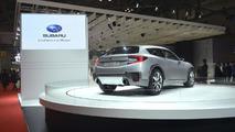 Subaru Cross Sport Design concept live in Tokyo 20.11.2013