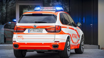 BMW X5 xDrive30d as a paramedic vehicle