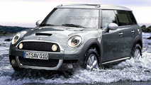 Mini Crossman SUV Artists Rendering