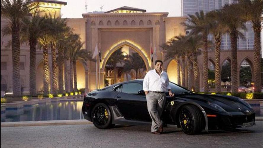 Una nuova Ferrari one-off su base 599 GTO