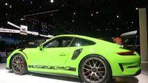 Porsche 911 GT3 RS with Weissach Package at the 2018 New York Auto Show