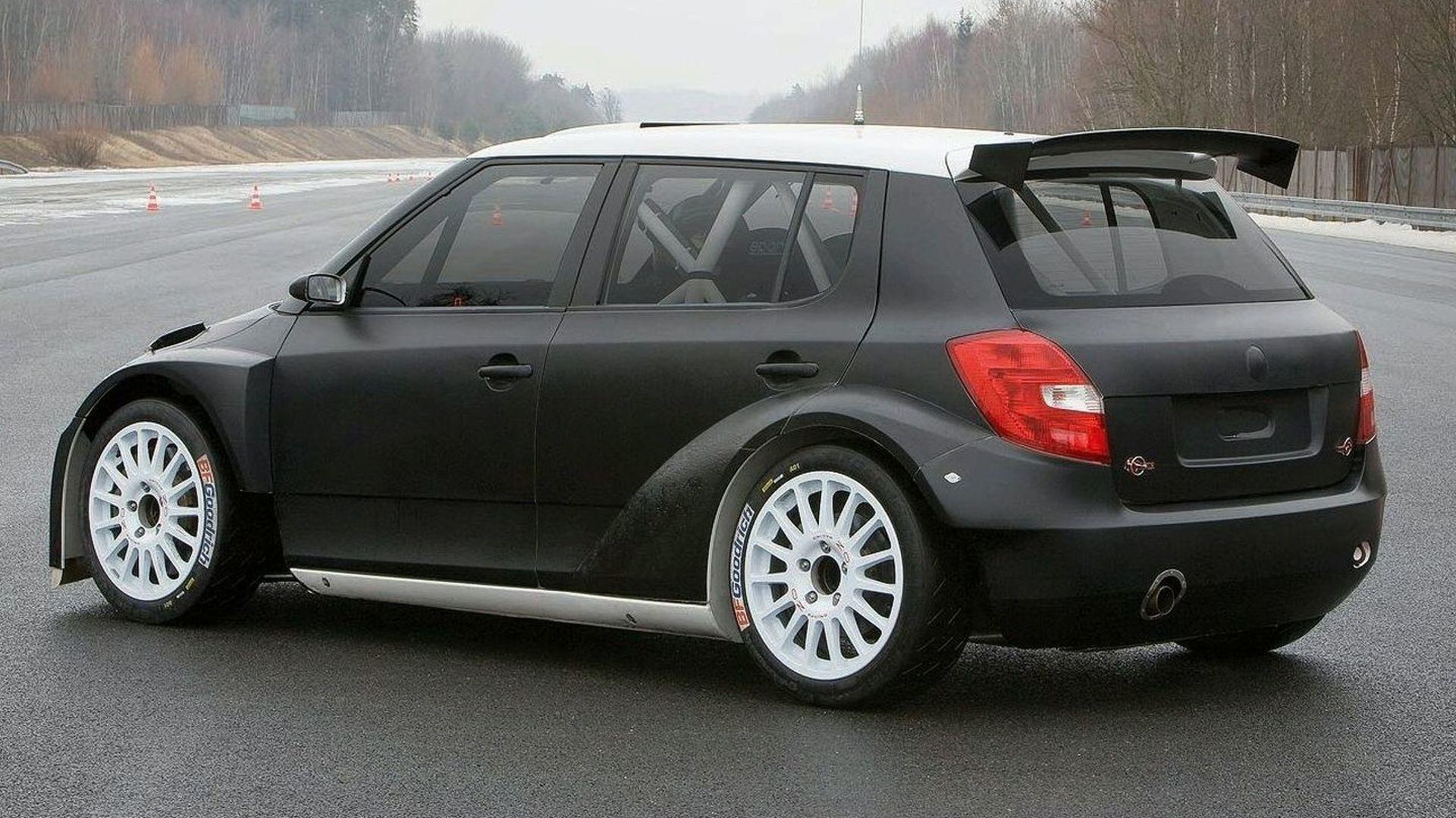 skoda fabia ii s2000 2009 racing cars. Black Bedroom Furniture Sets. Home Design Ideas
