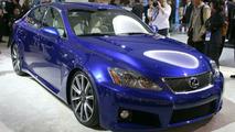 Lexus IS-F Performance Sedan at NAIAS