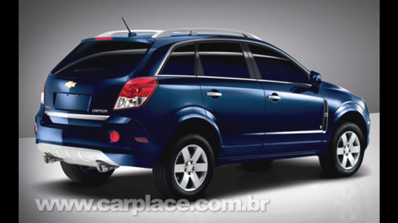 Conheça o Chevrolet Captiva que chega ao Brasil no segundo semestre deste ano