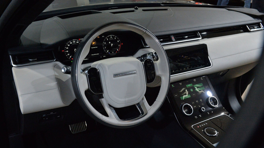 2018 Discovery Sport Interior >> Land Rover Range Rover Velar is Evoque's stylish bigger ...