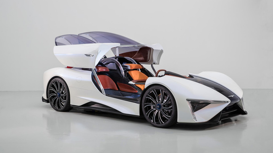 Techrules Ren is road-going fighter plane with 1,287hp turbine-hybrid