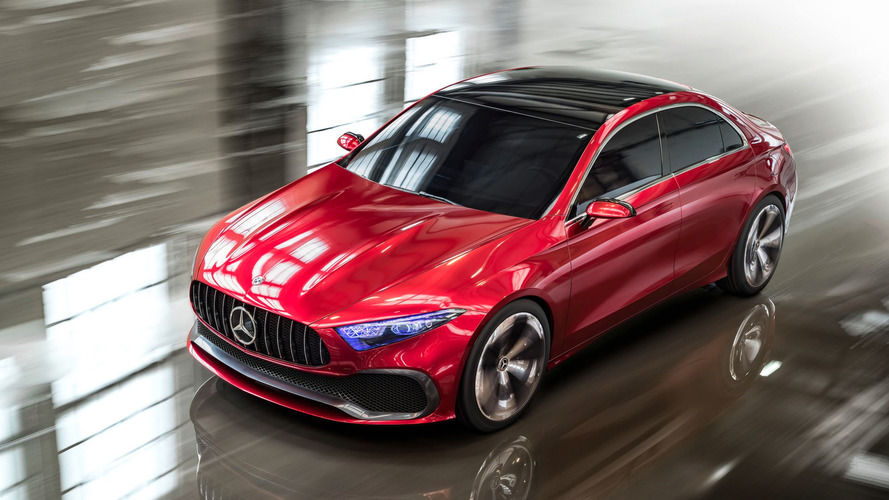 Futuro rival do A3 Sedan, Mercedes Classe A Sedan aparece como conceito