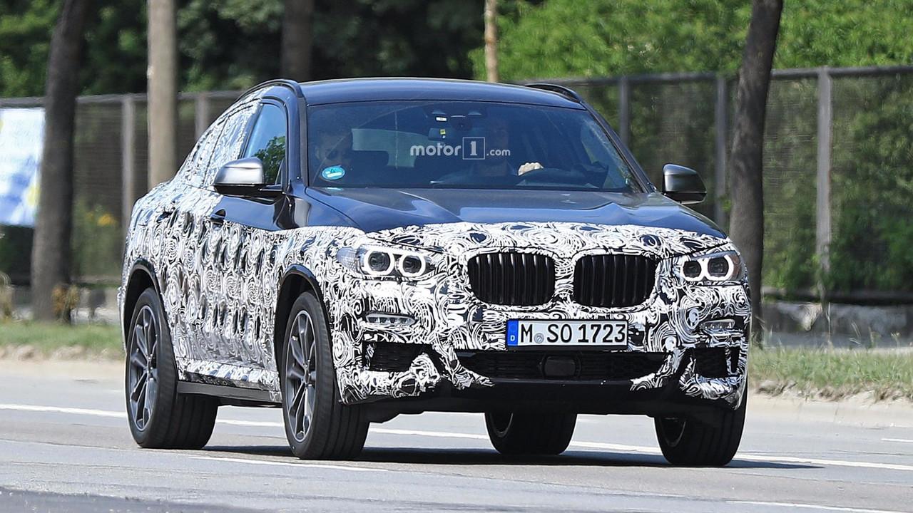 BMW X4 2019 fotos espia