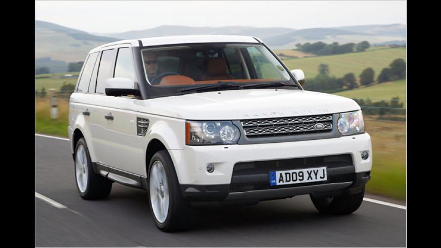 Wald-Dynamik: Range Rover Sport mit 510 PS im Test