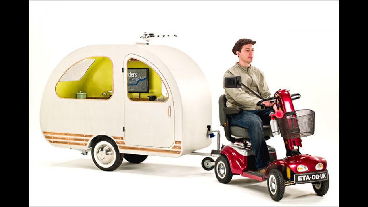 Mikro-Wohnwagen