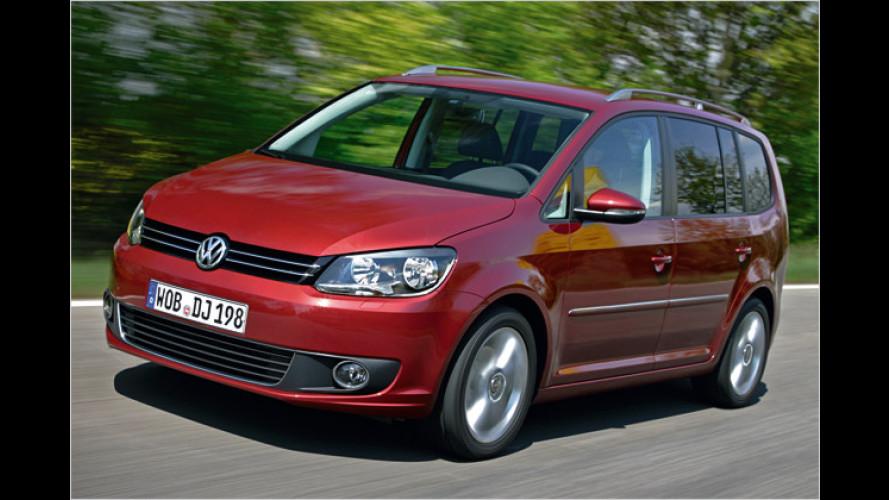 VW Touran: Mit neuen Motoren und aktuellem Markengesicht
