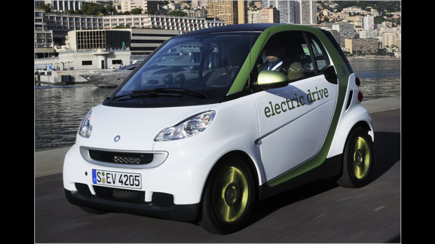 So war es gedacht: Elektrischer Smart
