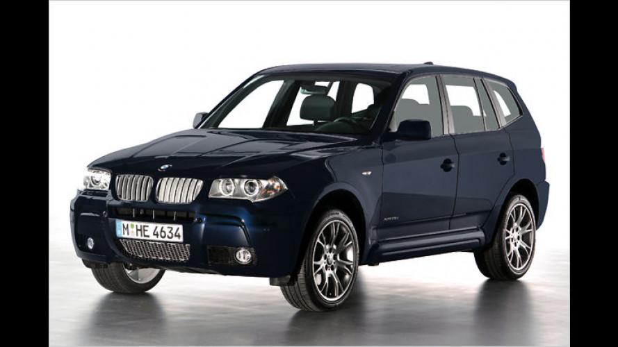 BMW schickt den X3 Limited Sport Edition ins Rennen