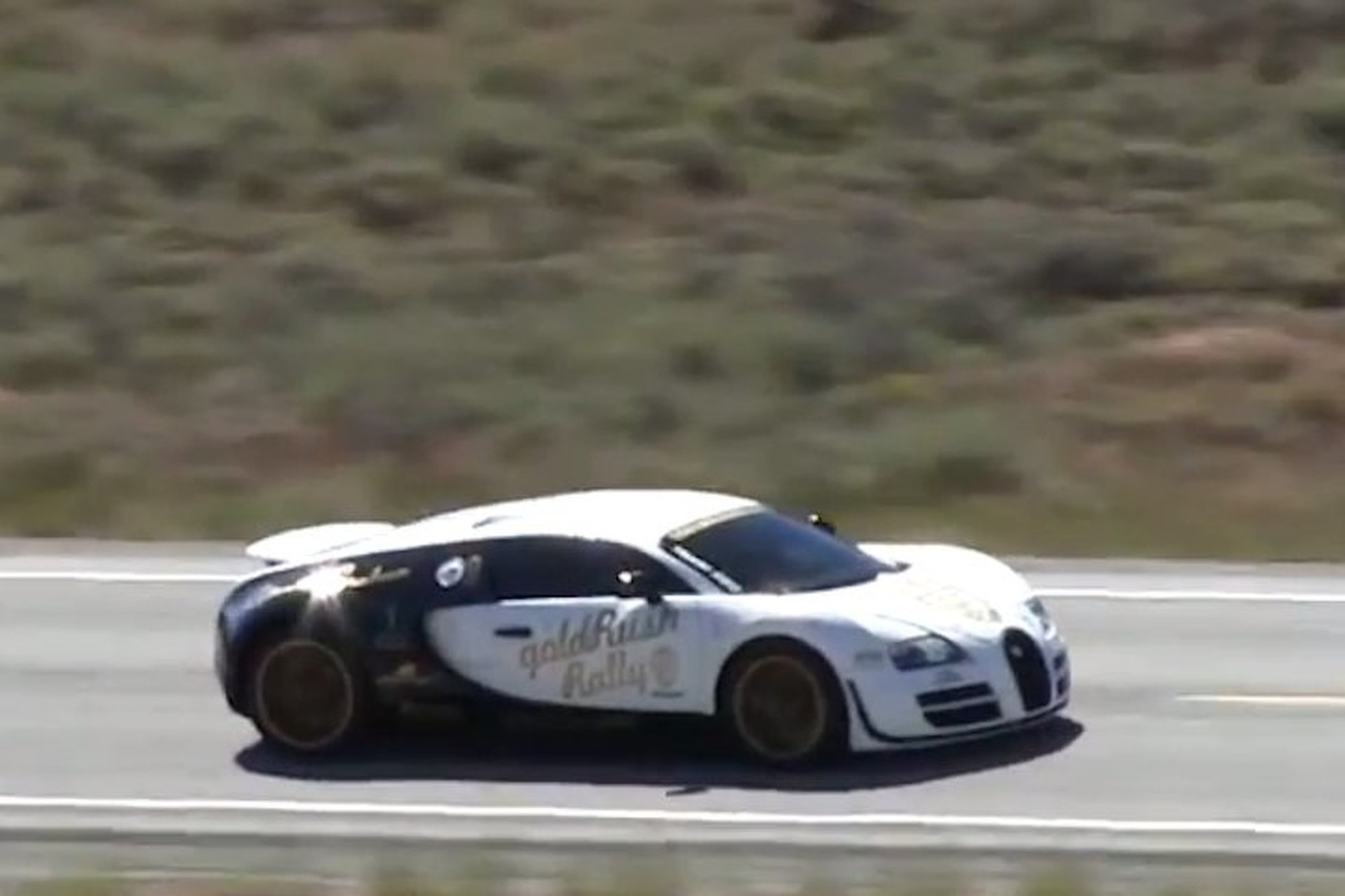 Bugatti Veyron SS Hits 246.4 MPH on Open Road in Idaho [Video]