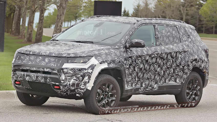 Jeep Compass & Patriot replacement spied in Trailhawk guise