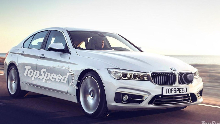 2017 BMW 5-Series rendered prior to next year debut