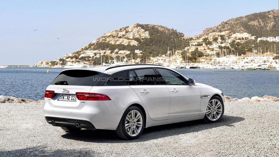 Jaguar XE Sportbrake rendered ahead of possible launch later this year