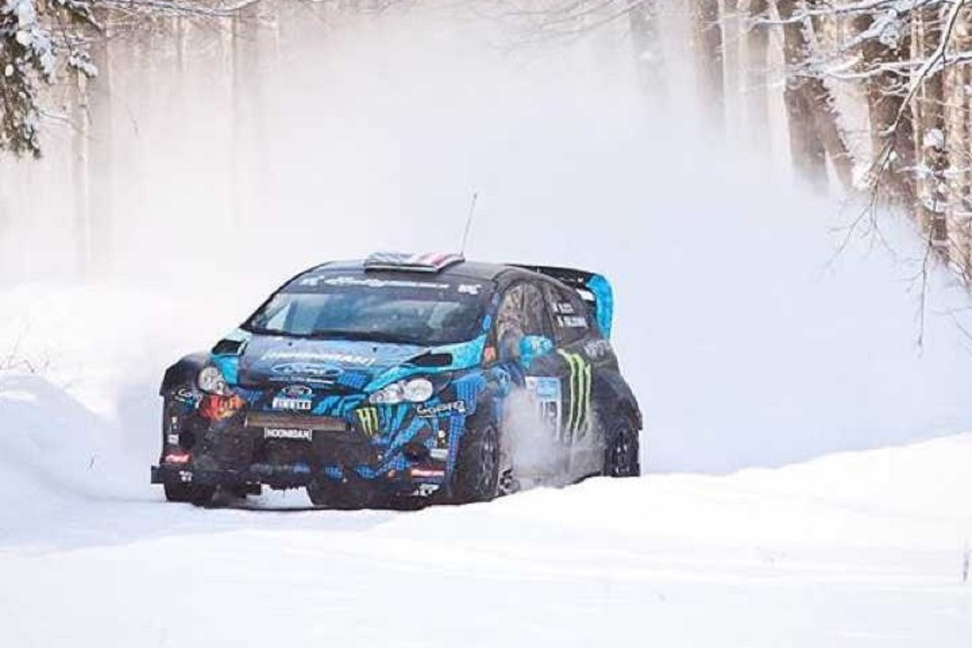 Buy Ken Block\'s Ford Fiesta Rally Car and Make Your Own Gymkhana