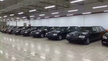 Eight Mercedes S500L W140 Pullman limos auctioned by Shanghai gov