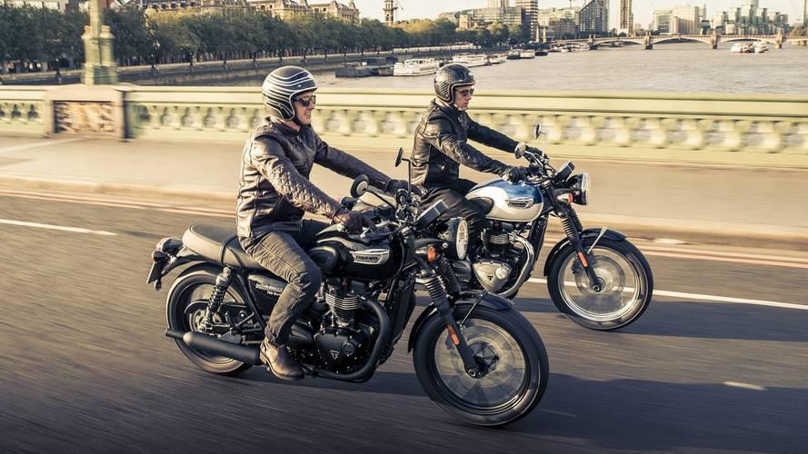 Estrena tu nueva Triumph Modern Classic con la máxima protección