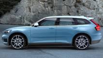 Render Volvo V40 2020