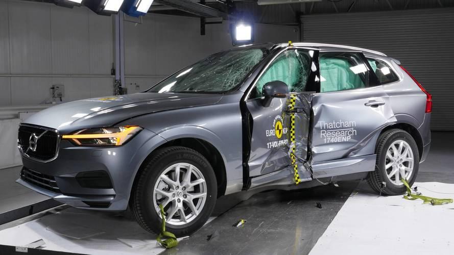 Novo Volvo XC60 é o carro mais seguro do ano, segundo EuroNCAP