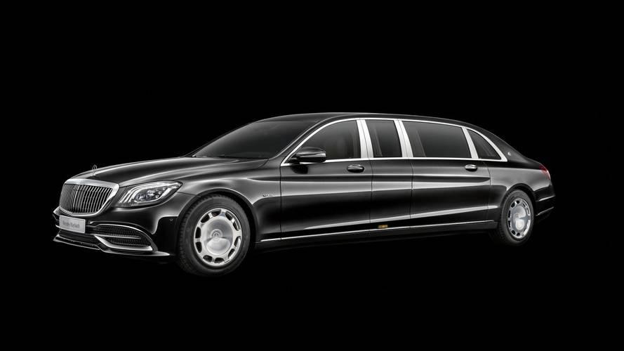 Mercedes-Maybach Pullman 2018, con un motor V12 más potente