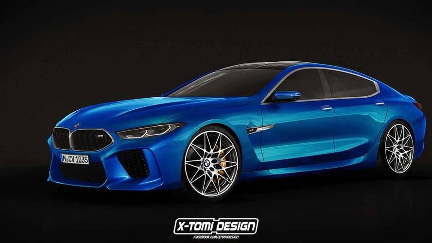BMW Concept M8 Gran Coupe Realistically Rendered For Production