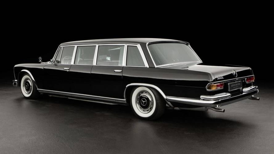 ¿Comprarías este Mercedes-Benz 600 Pullman, de 1970?