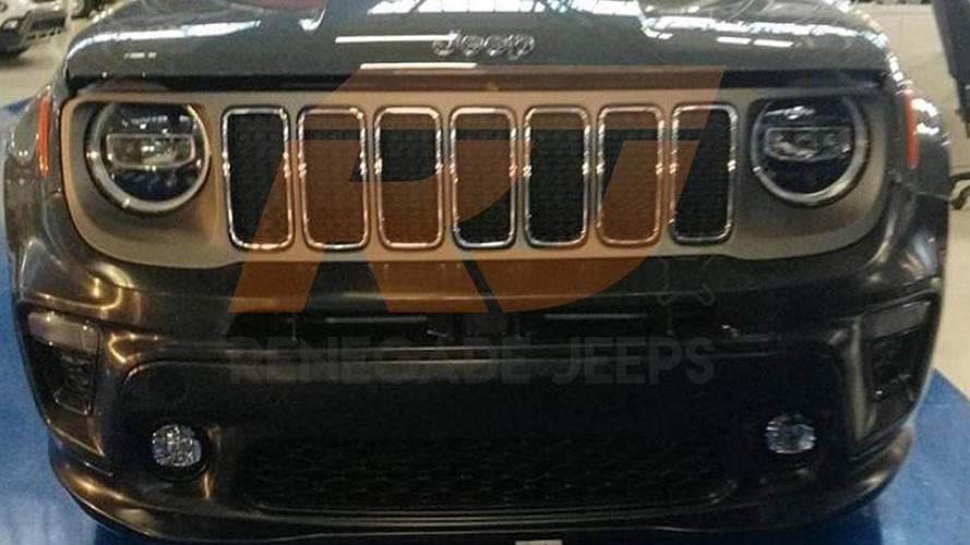 Photos espion - Quelques détails de la Jeep Renegade restylée !