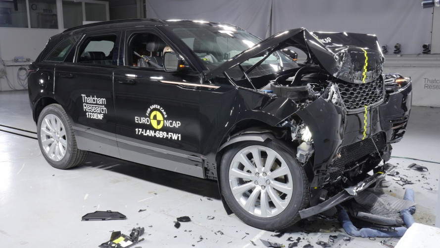 Range Rover Velar, crash test a 5 stelle