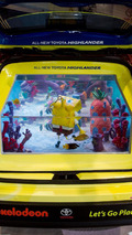 Toyota SpongeBob Highlander Tanked Edition at SEMA 05.11.2013