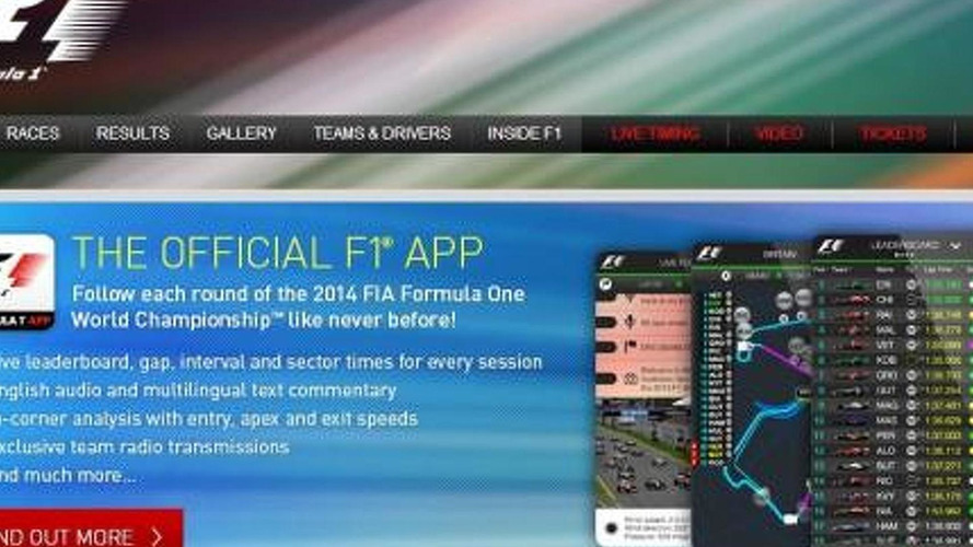Paid F1 'app' to debut in June - Ecclestone