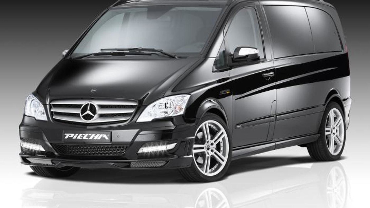 Mercedes-Benz Viano facelift by JMS and Piecha Design 18.11.2013