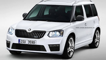 Skoda Yeti vRS digitally envisioned