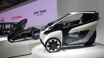 Toyota i-Road concept at Tokyo Motor Show 20.11.2013