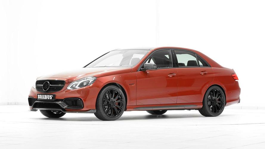 Brabus tunes the Mercedes E63 AMG sedan to 850 PS