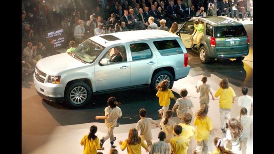 GM in Detroit: Erstes bimodales Hybridsystem und mehr
