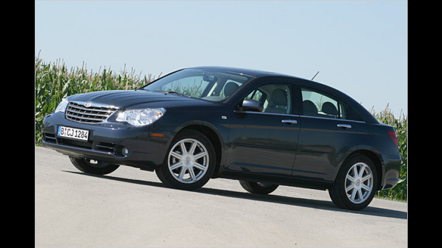Chrysler Sebring 2.0 CRD: Leicht konservativ, aber sehr sanft