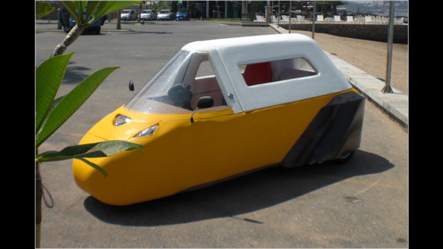 Spira Foam Car: Supersicheres Schaum-Auto?