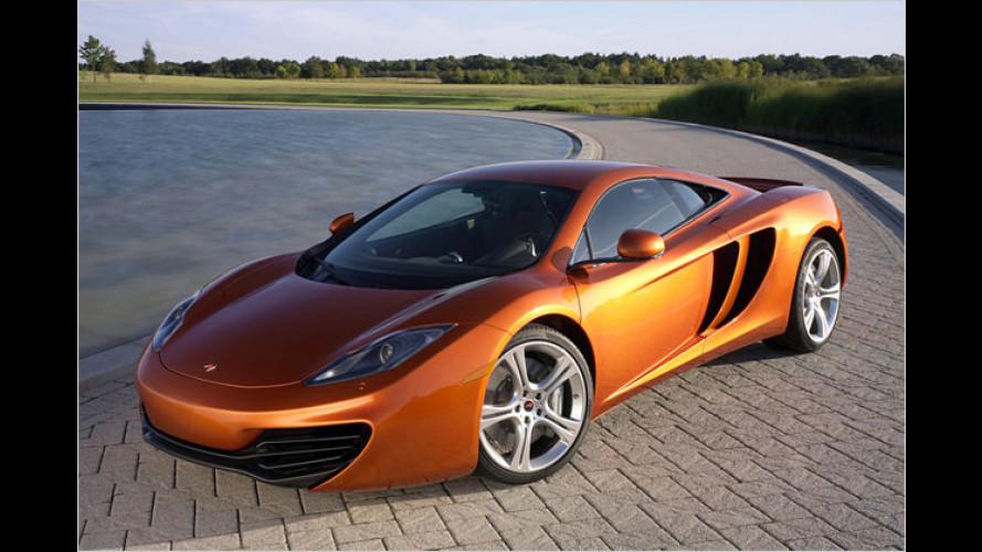Alles McLaren: Neuer Supersportler MP4-12C