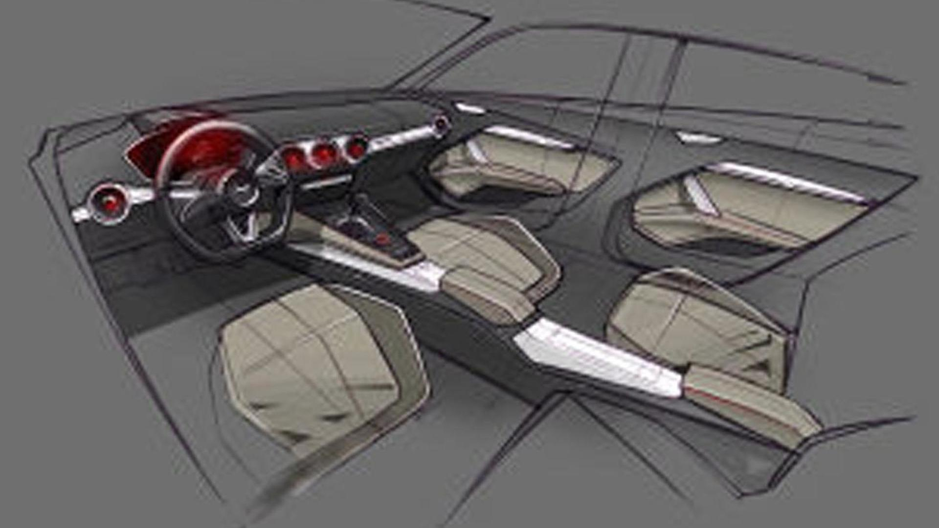 Концепция салона Audi TT Sportback Concept