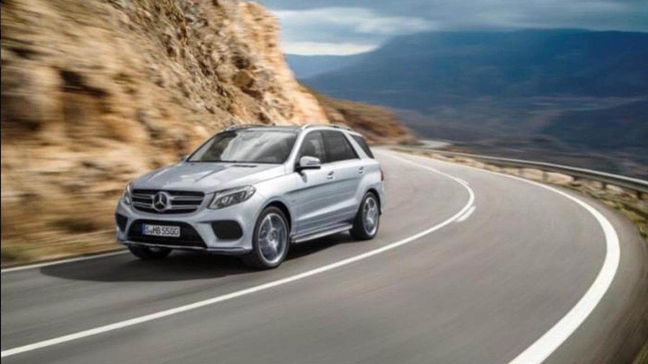 2016 Mercedes GLE leaked photo