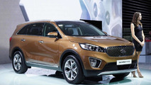 2015 Kia Sorento (euro-spec) at 2014 Paris Motor Show