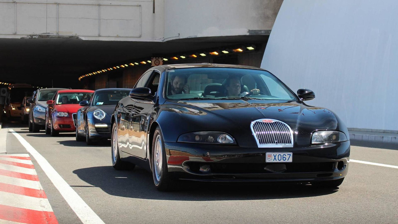 How Much Does A Lamborghini Cost In Dubai >> Very rare Bugatti EB112 prototype spotted in Monaco