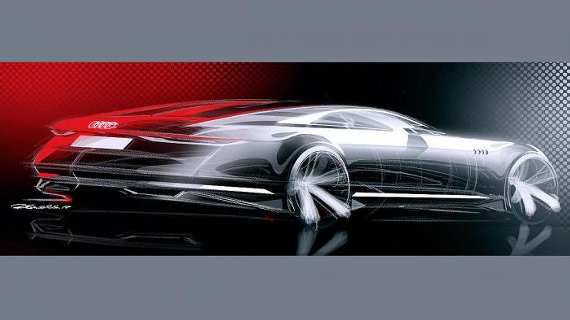 Официальные наброски Audi Prologue