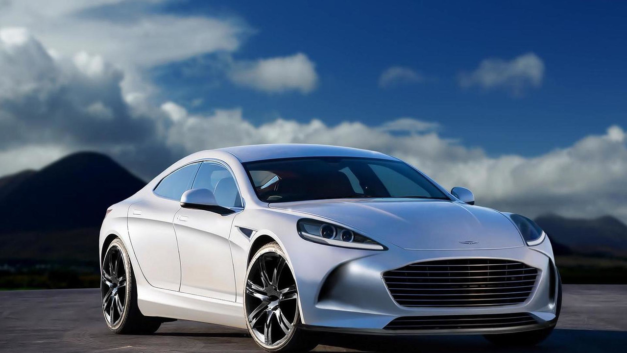 Second-gen Aston Martin Rapide render